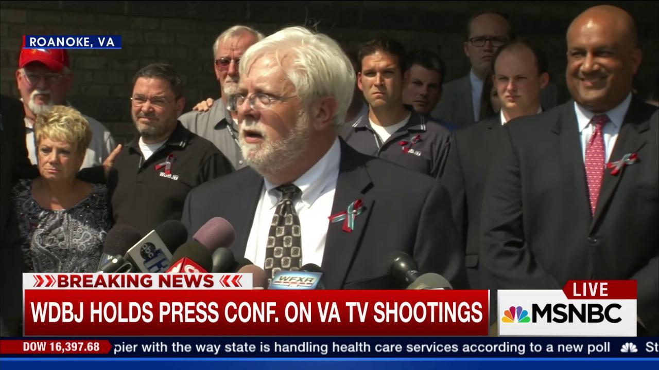 WDBJ recommended counseling for VA shooter