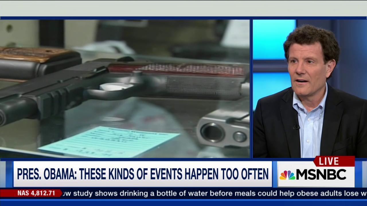 Kristof: Gun violence is a 'health crisis'