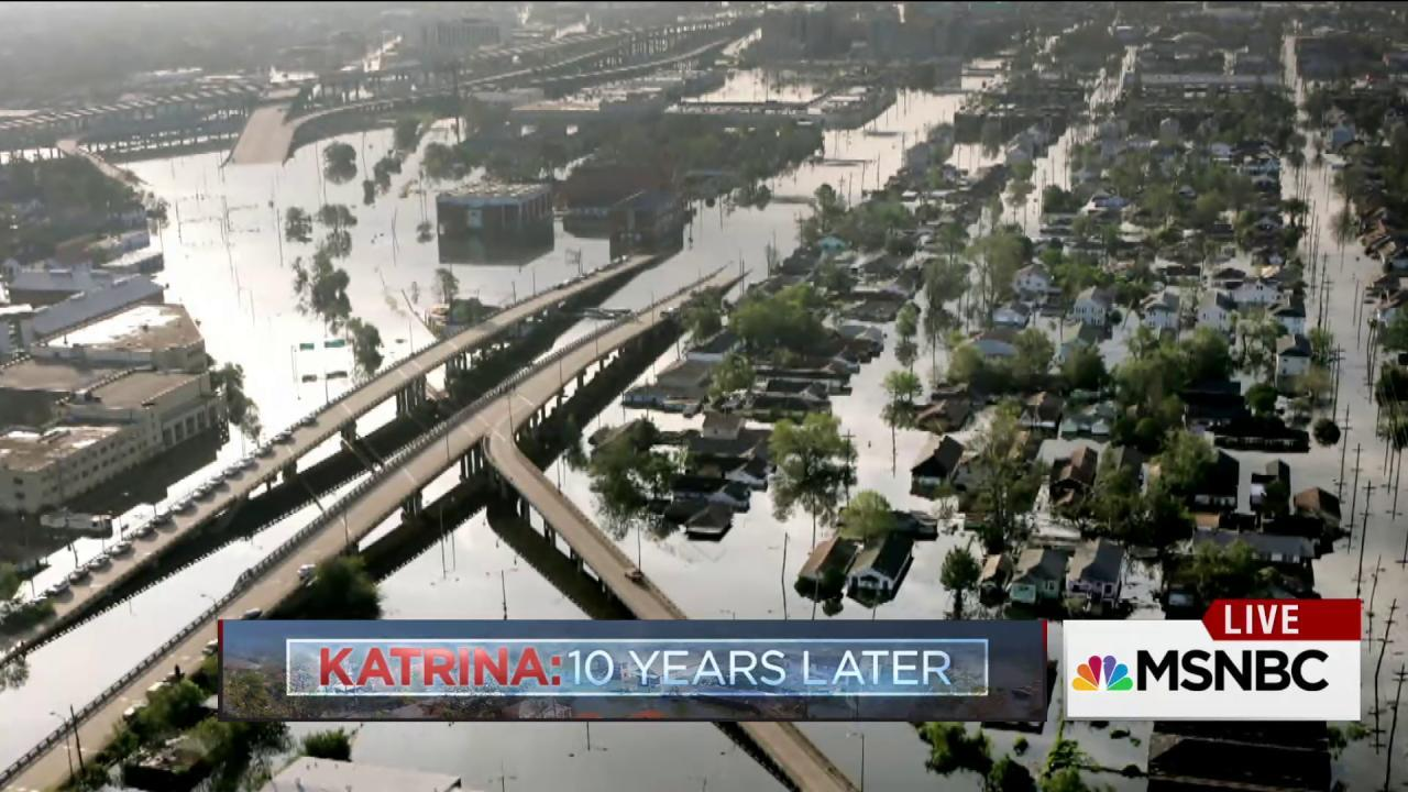 Obama visits New Orleans 10 yrs after Katrina