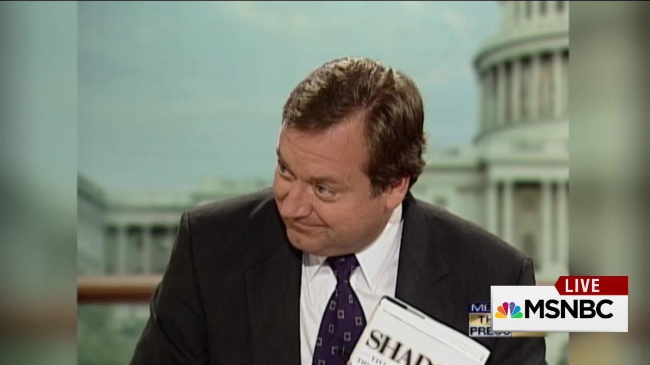 Russert grills Chertoff on Katrina failures