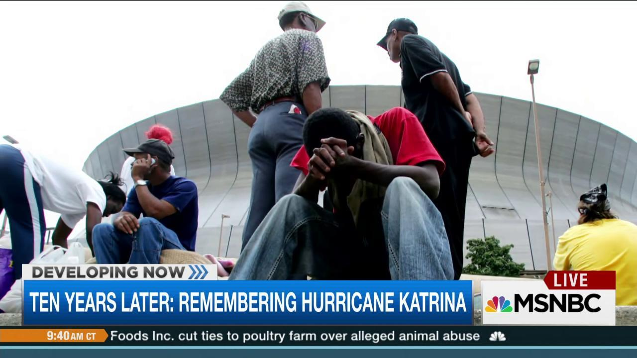 Katrina survivor: 'We're still not whole'