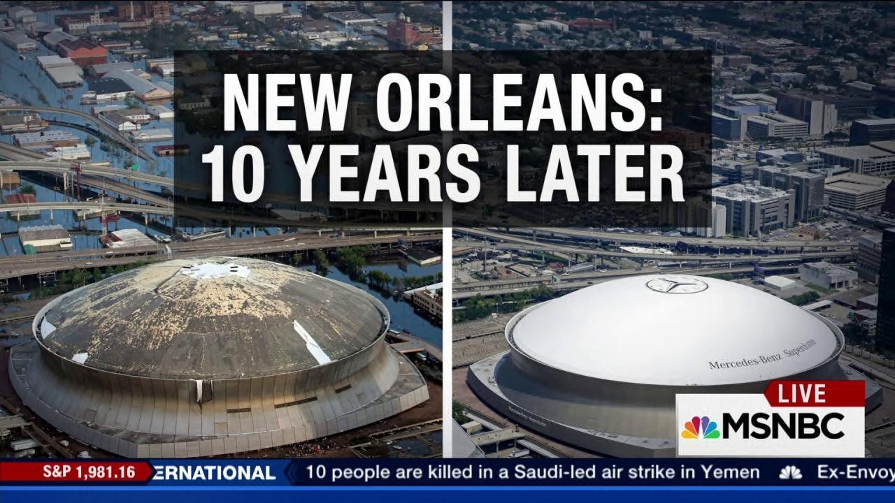 How much progress has been made in NOLA?