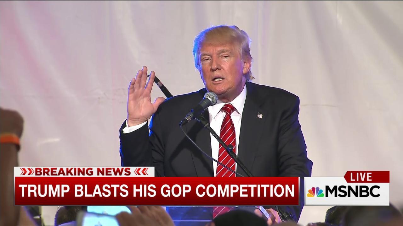 Trump slams Rick Perry and Rand Paul