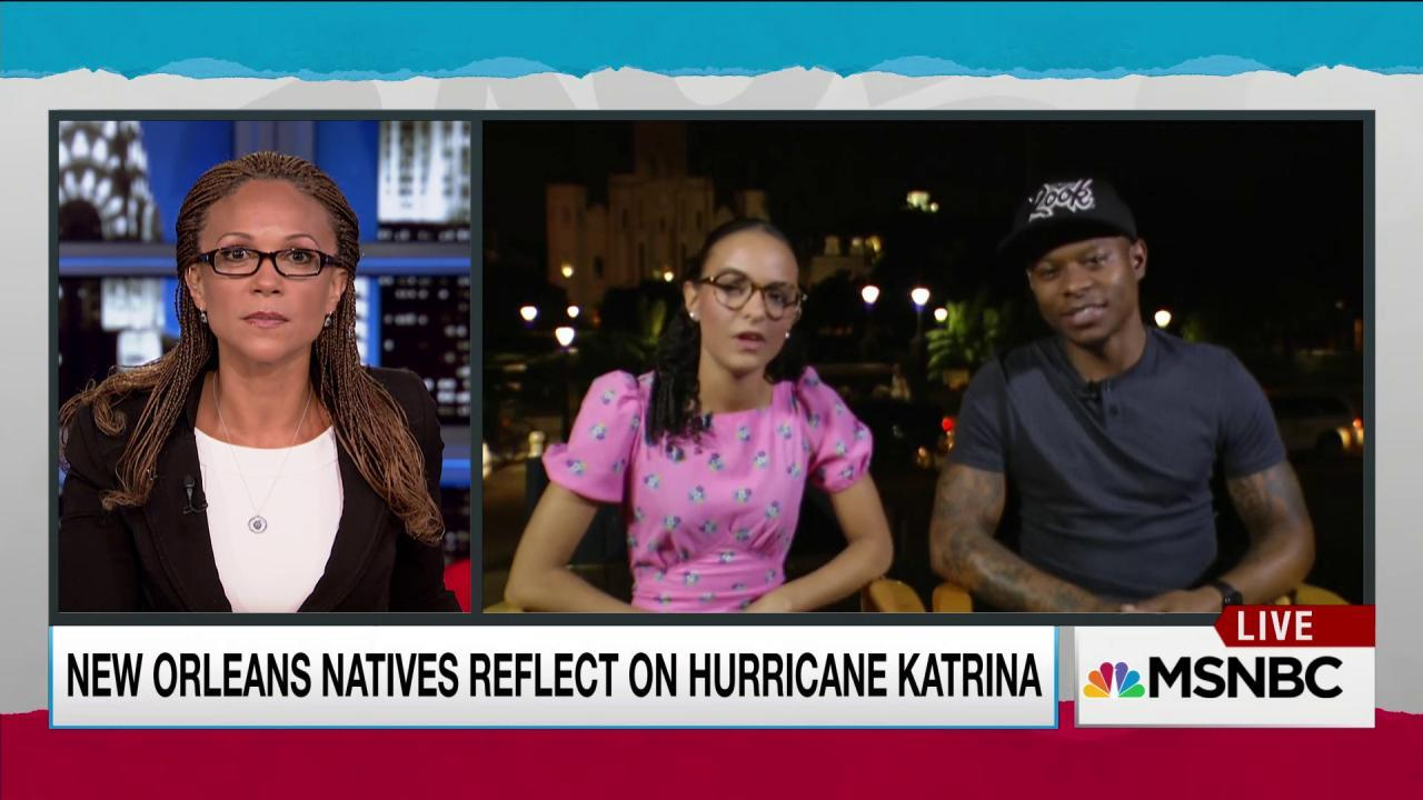 New Orleans youth on Katrina's influence