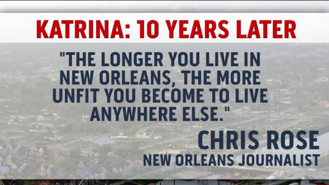New Orleans remembers hurricane Katrina