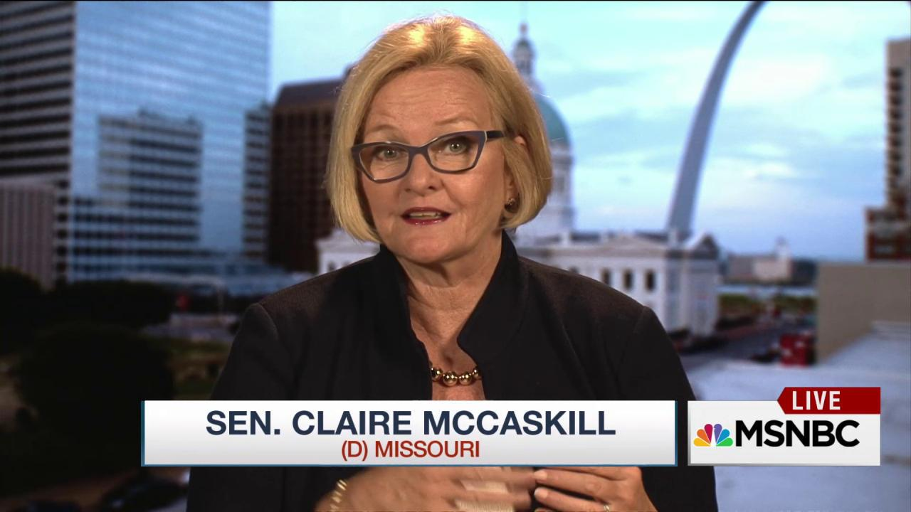 McCaskill on what it means to be 'ladylike'