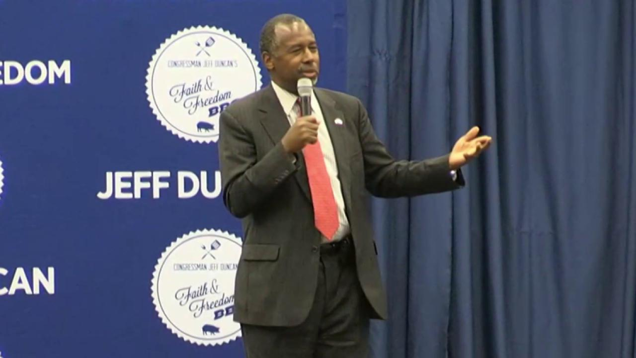 Ben Carson emerges as unlikely frontrunner