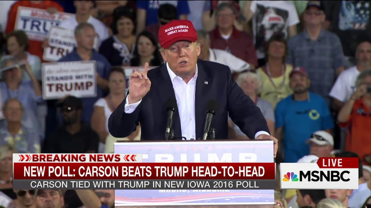 Has Donald Trump finally met his match?