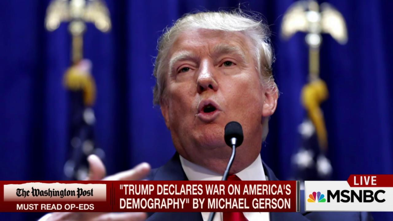 Why GOP candidates can't ignore Trump