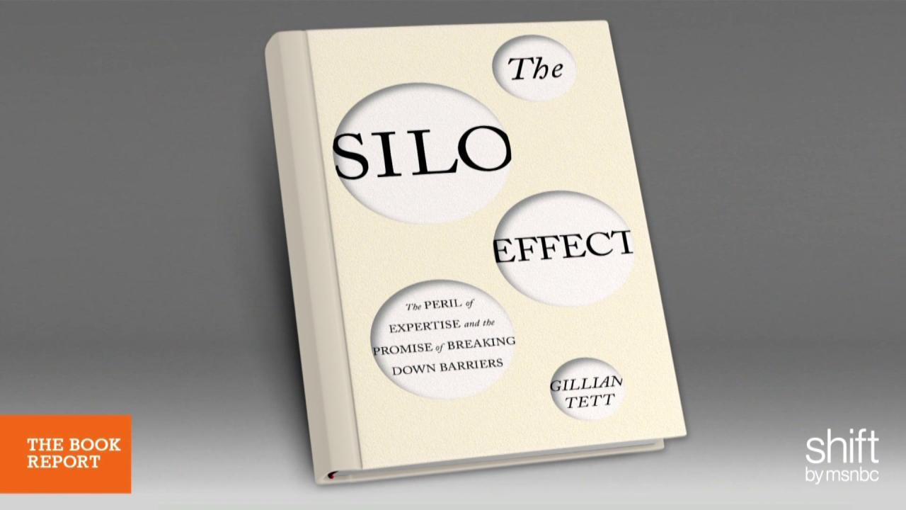 How informational silos affect productivity