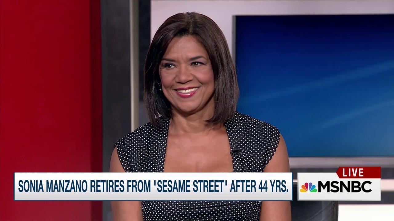 Sesame Street's 'Maria' visits PoliticsNation