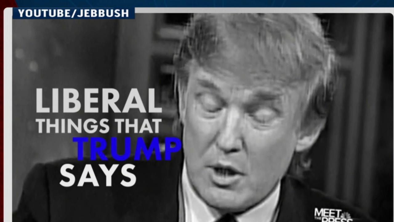 Jeb Bush fights back against Donald Trump