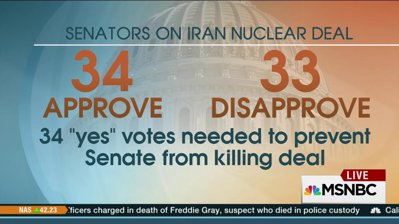 WH secures votes to ensure Iran deal survives