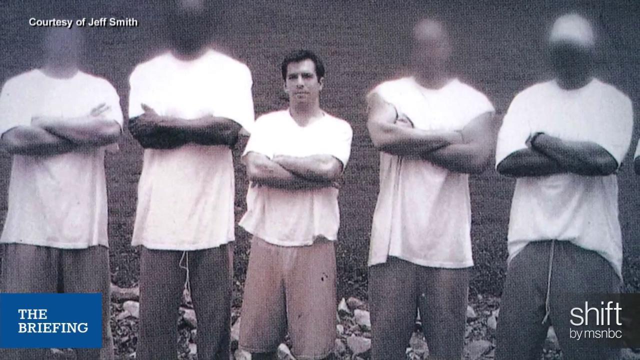 Former State Senator on prison experience