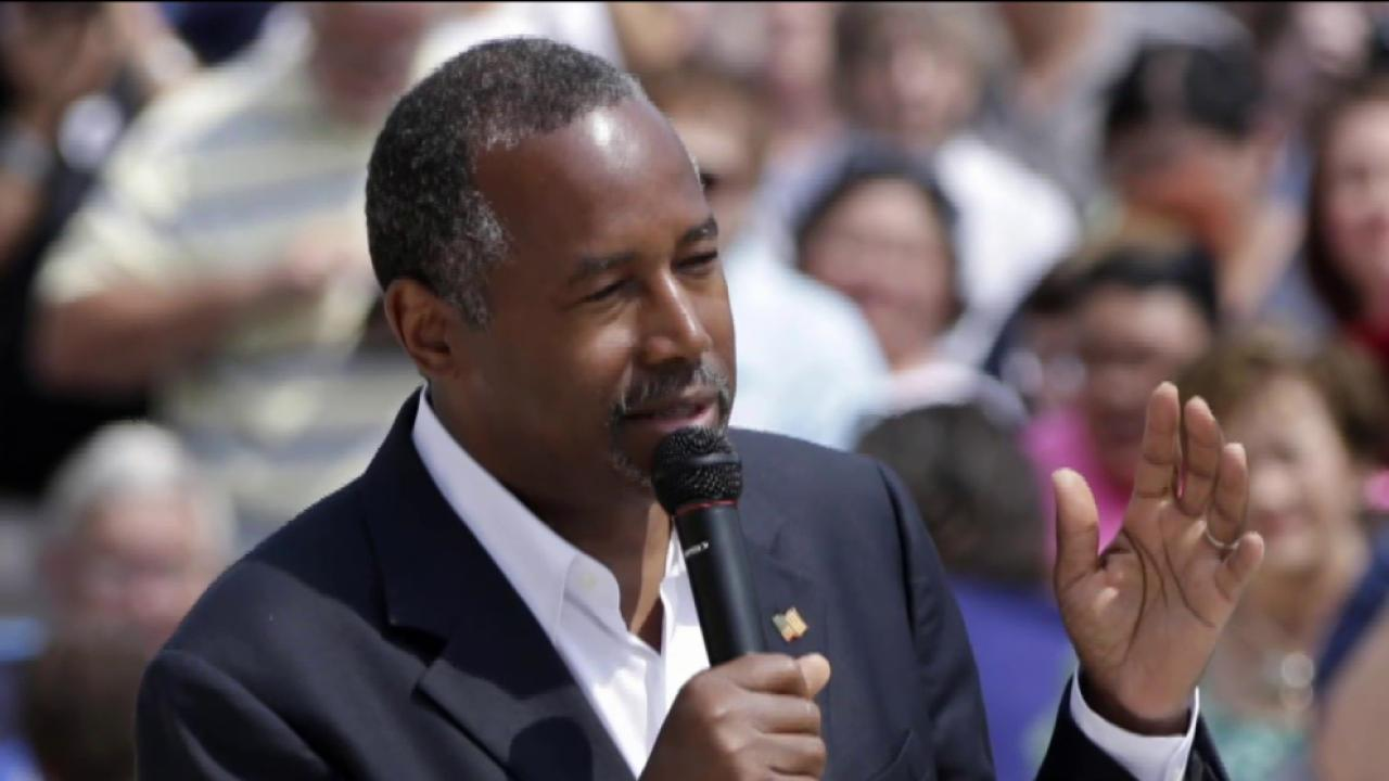 Ben Carson on the rise