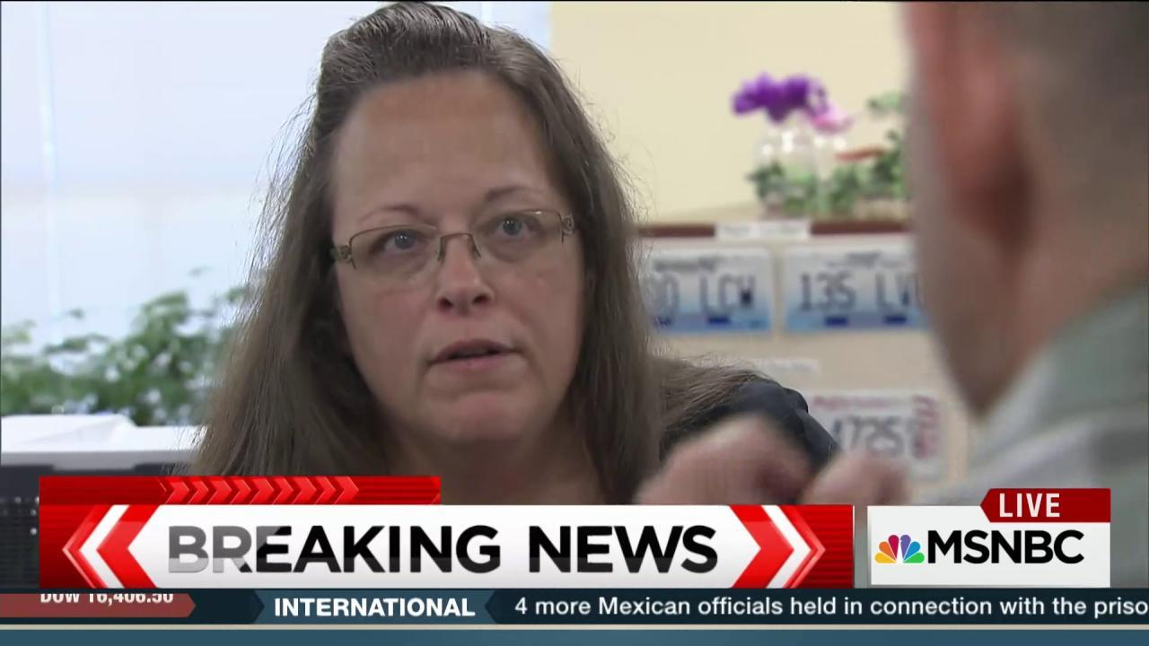 Judge orders release of Kim Davis