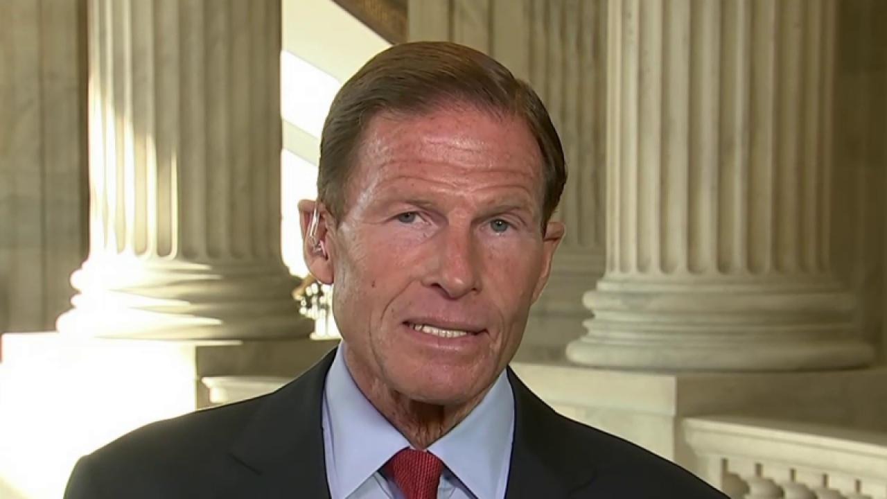 Sen. Blumenthal on supporting the Iran deal
