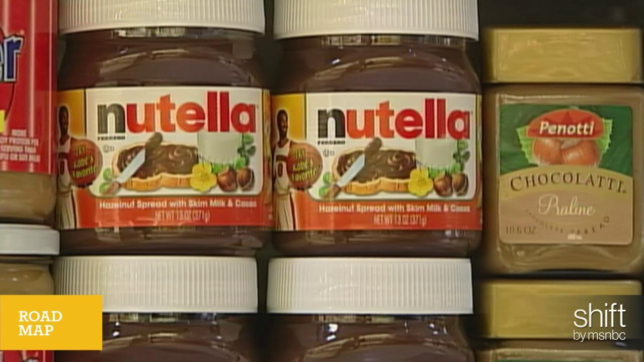 Bad news for Nutella thieves