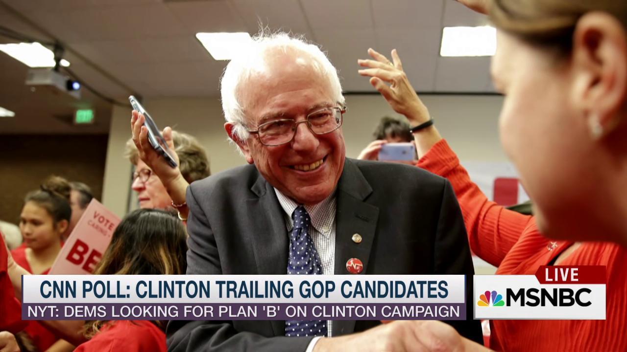 Why not Bernie Sanders?
