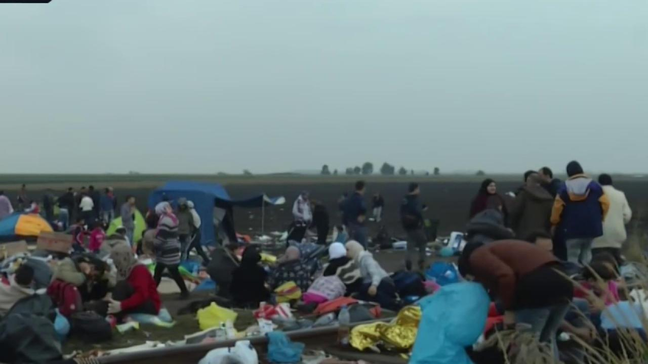 Migrants face dire conditions in detention...