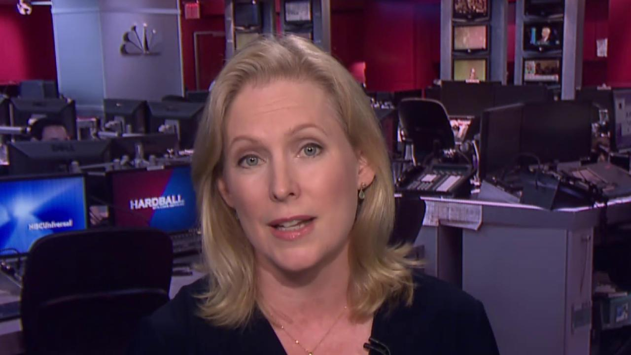 Gillibrand: voters 'won't tolerate overt...