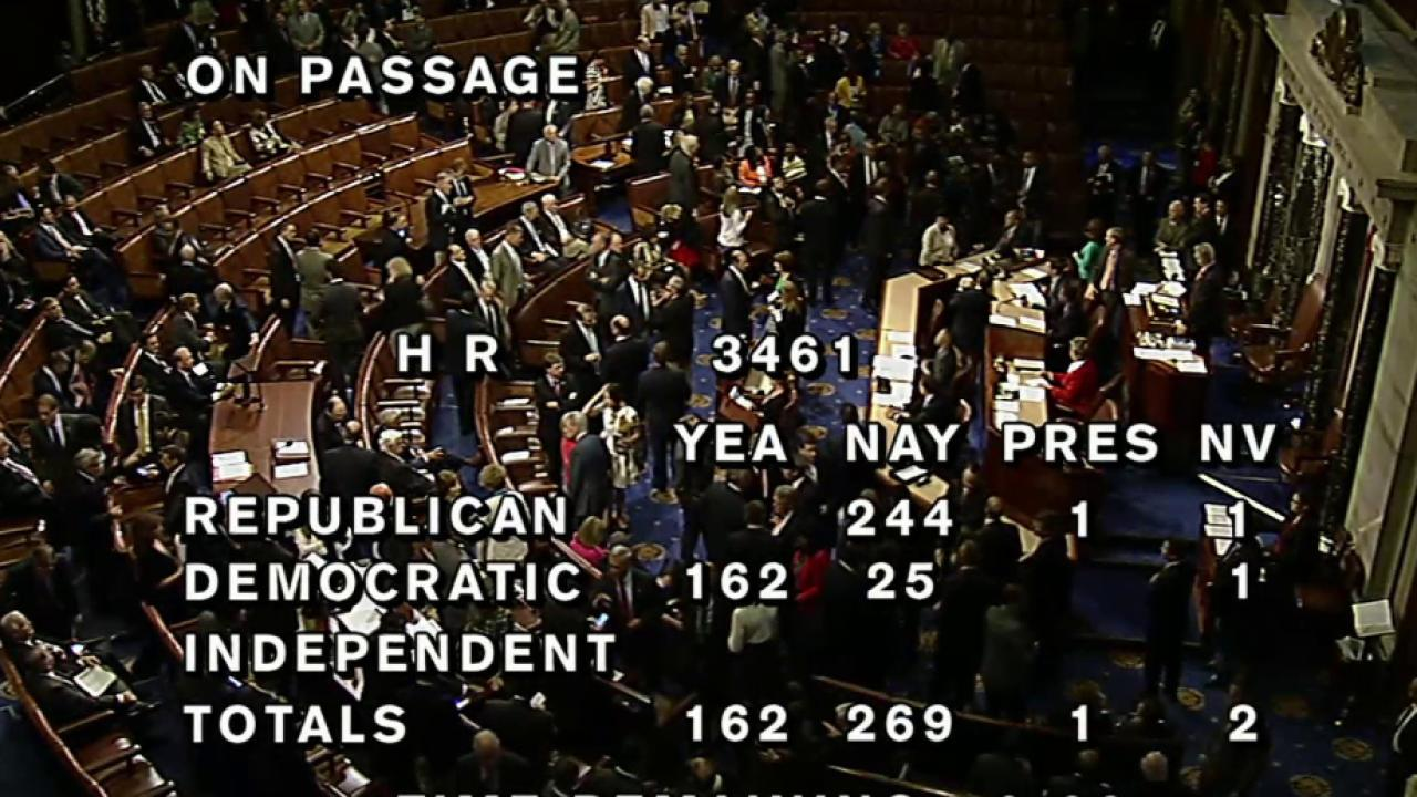 Several Democrats vote against Iran deal