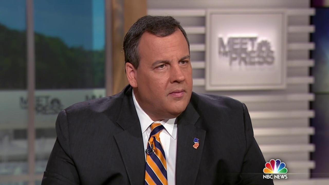 meet the press chris christie interview with cnn