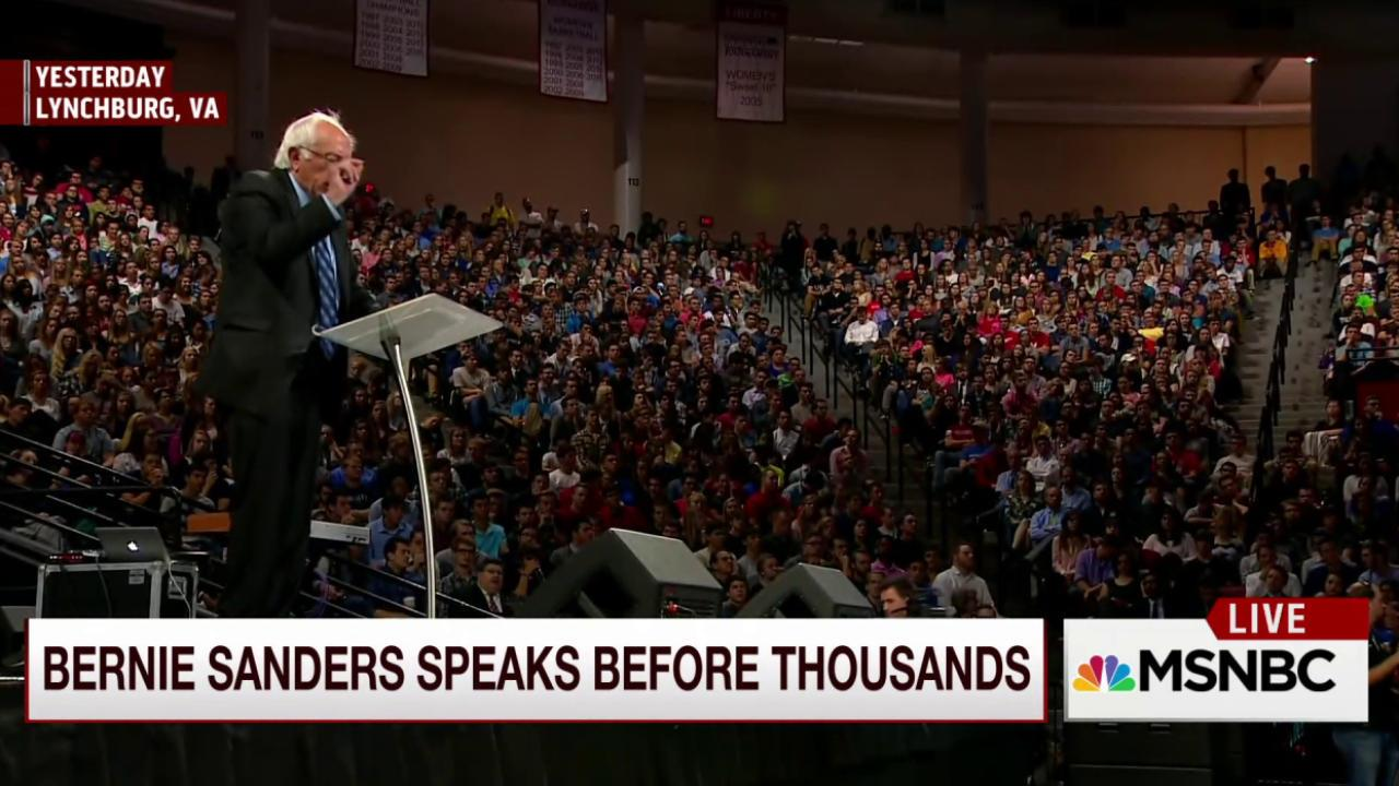 Joe: You can draw a line from Bernie to Trump