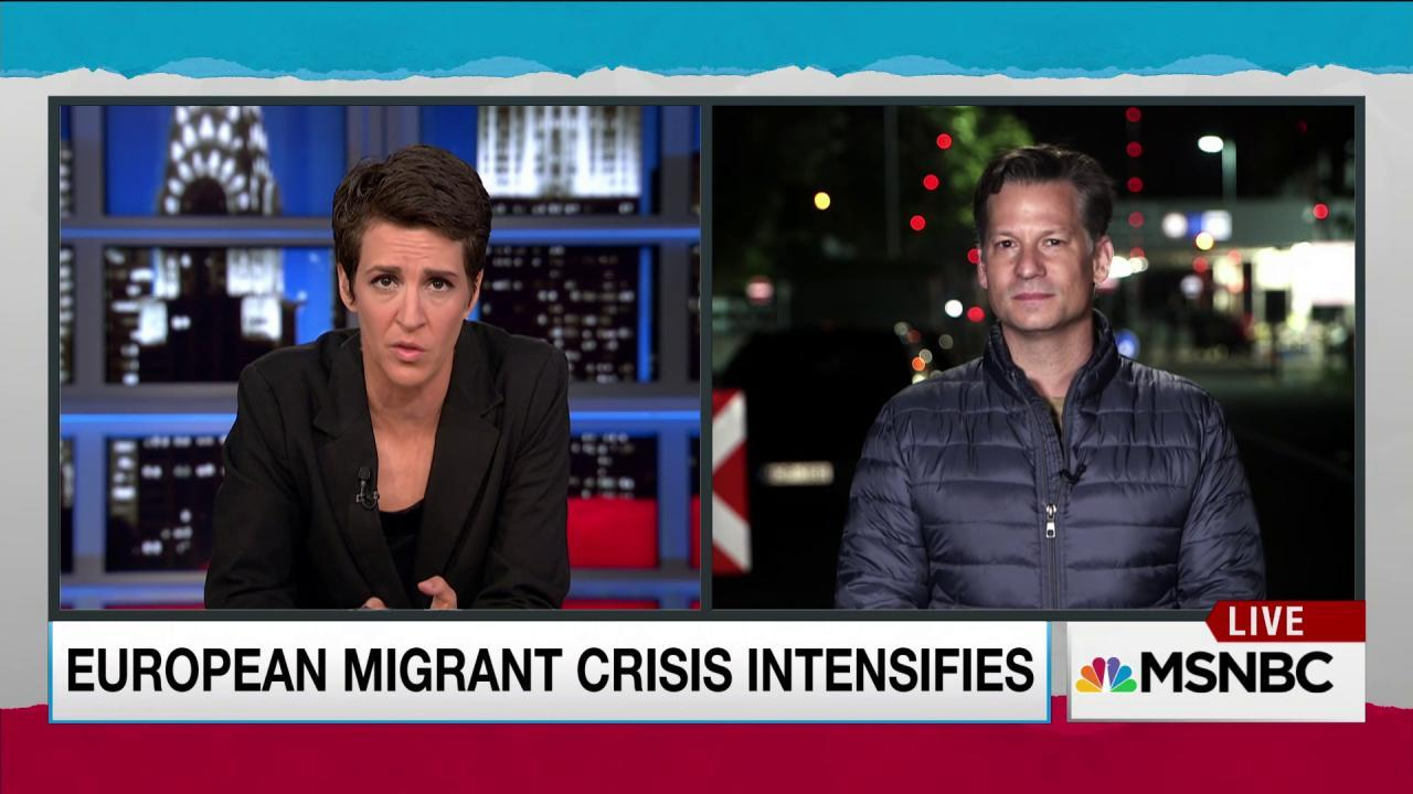 Desperate refugees encounter closed borders