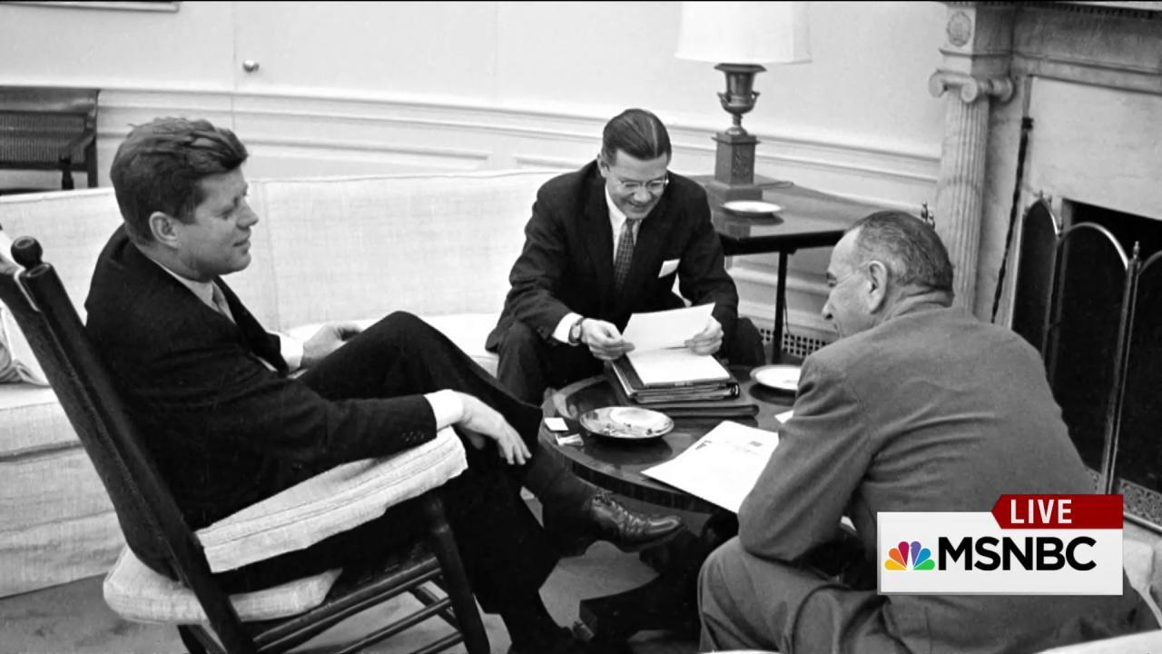 Newly declassified CIA presidential briefs offer new insight on JFK, Johnson