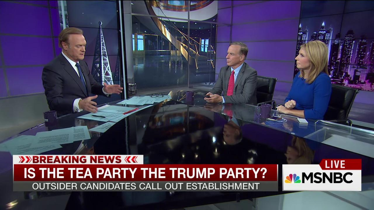 Trump supporters cause split in the movement