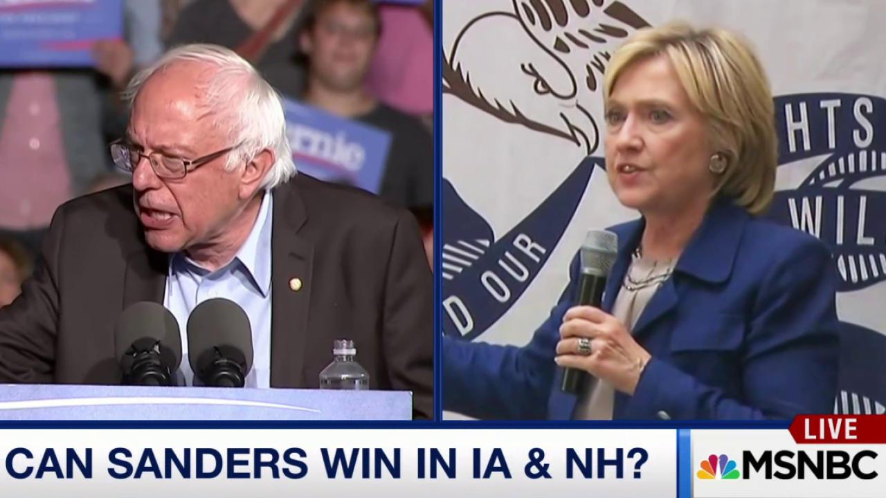 Can Sanders win in Iowa and NH?