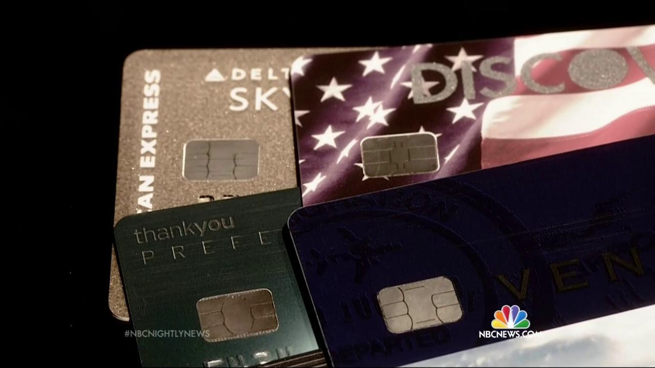 Chips  Dips and Tips    Potential Problems With New Credit Cards     NBC News Chips  Dips and Tips    Potential Problems With New Credit Cards   NBC News