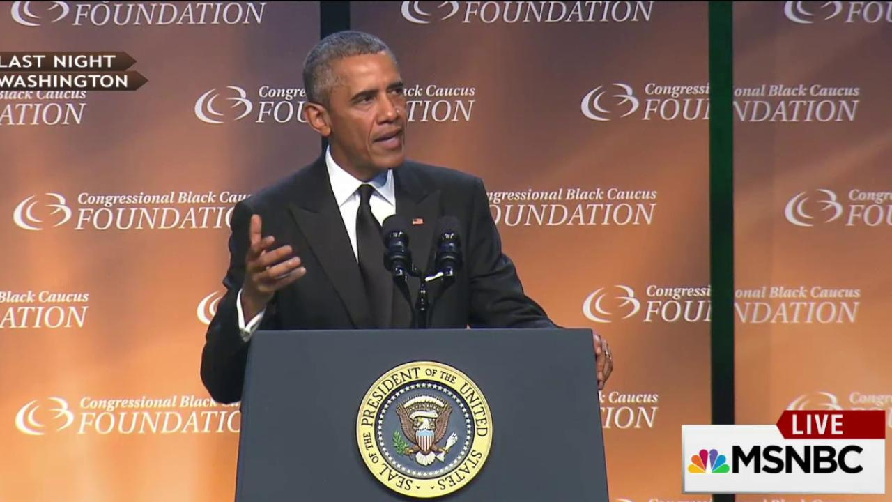 Obama: Women were the 'foot soldiers'