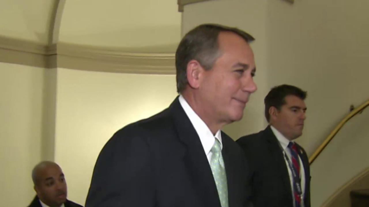 House Speaker Boehner plans to resign