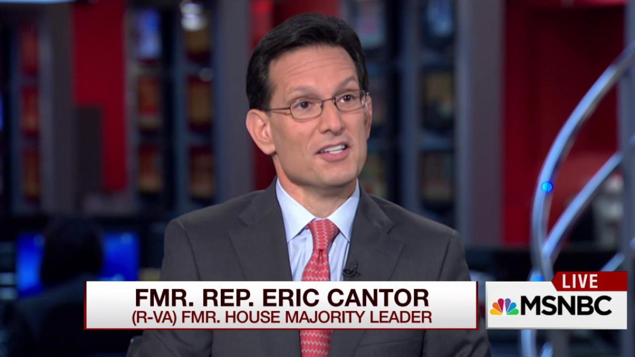 Eric Cantor shocked to learn of Boehner's...