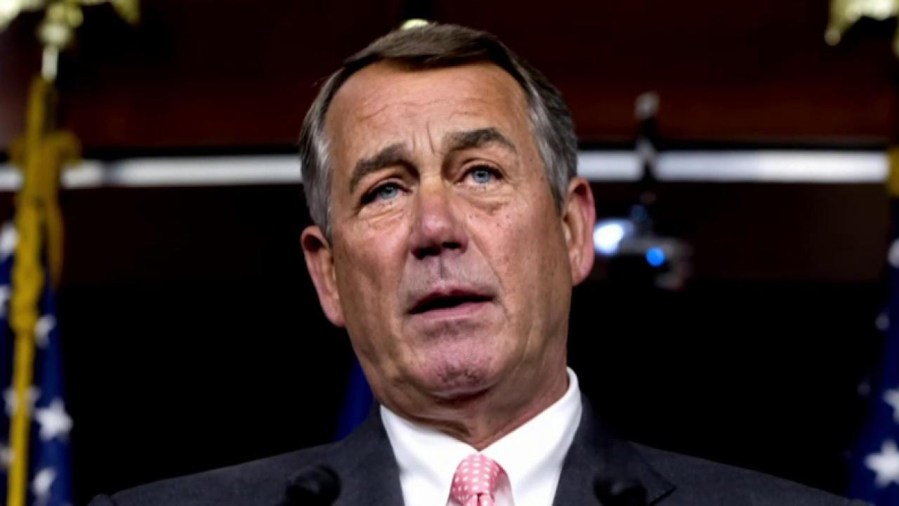 Fallout from John Boehner's resignation