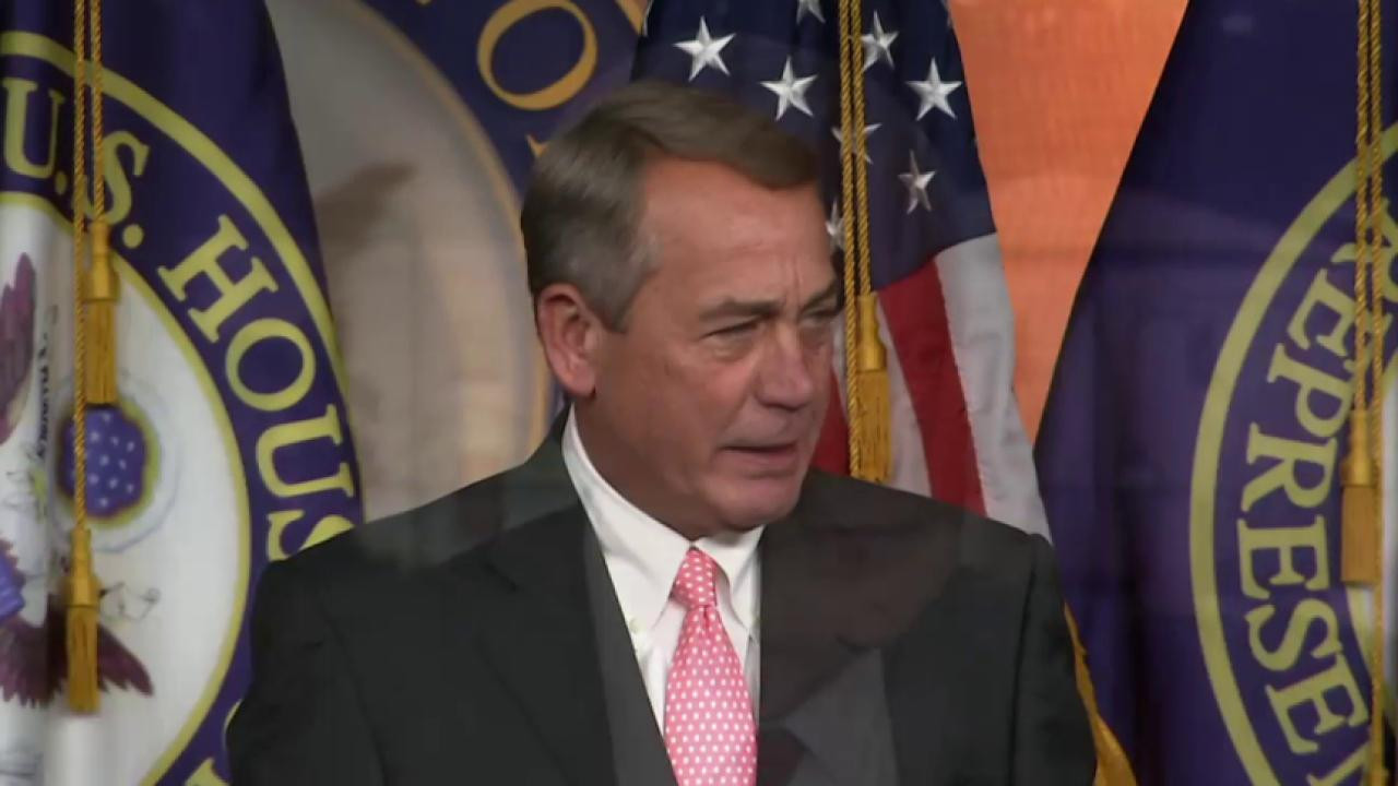 Did John Boehner cool GOP 'red-hots?'