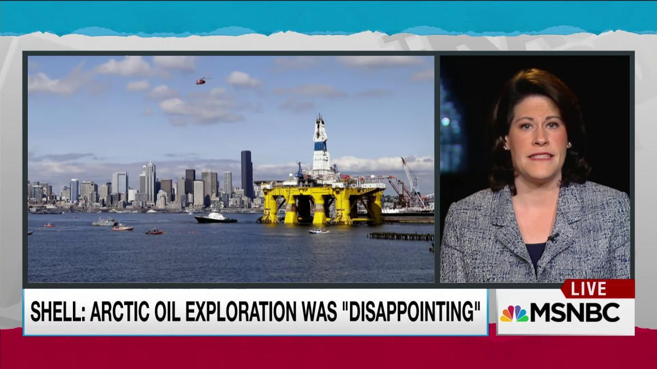 Shell Oil abandons Arctic drilling ambitions