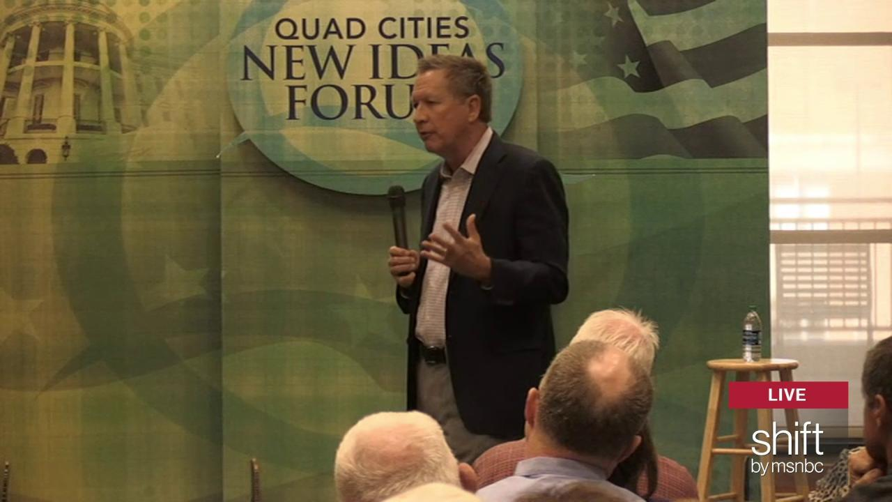 Kasich: 'with the environment, balance'