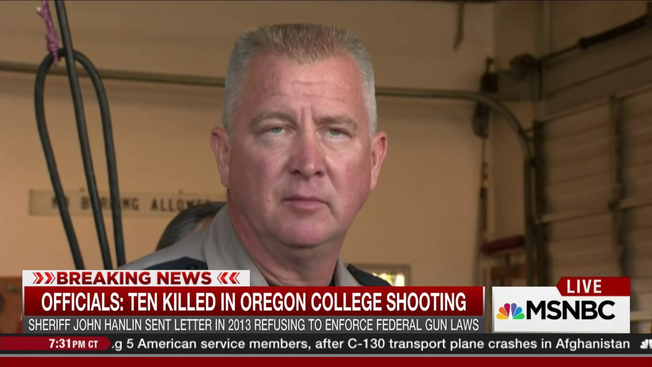 OR sheriff opposed expanded background checks