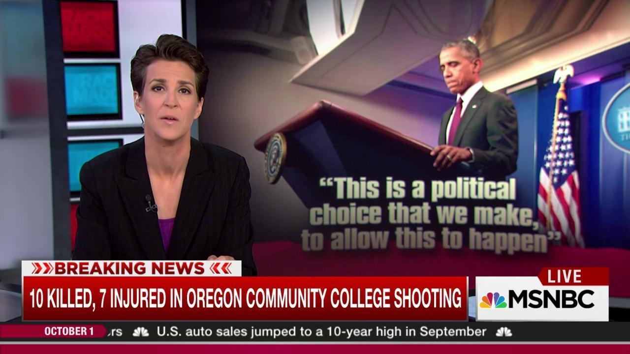 Obama enraged over gun massacre repeat