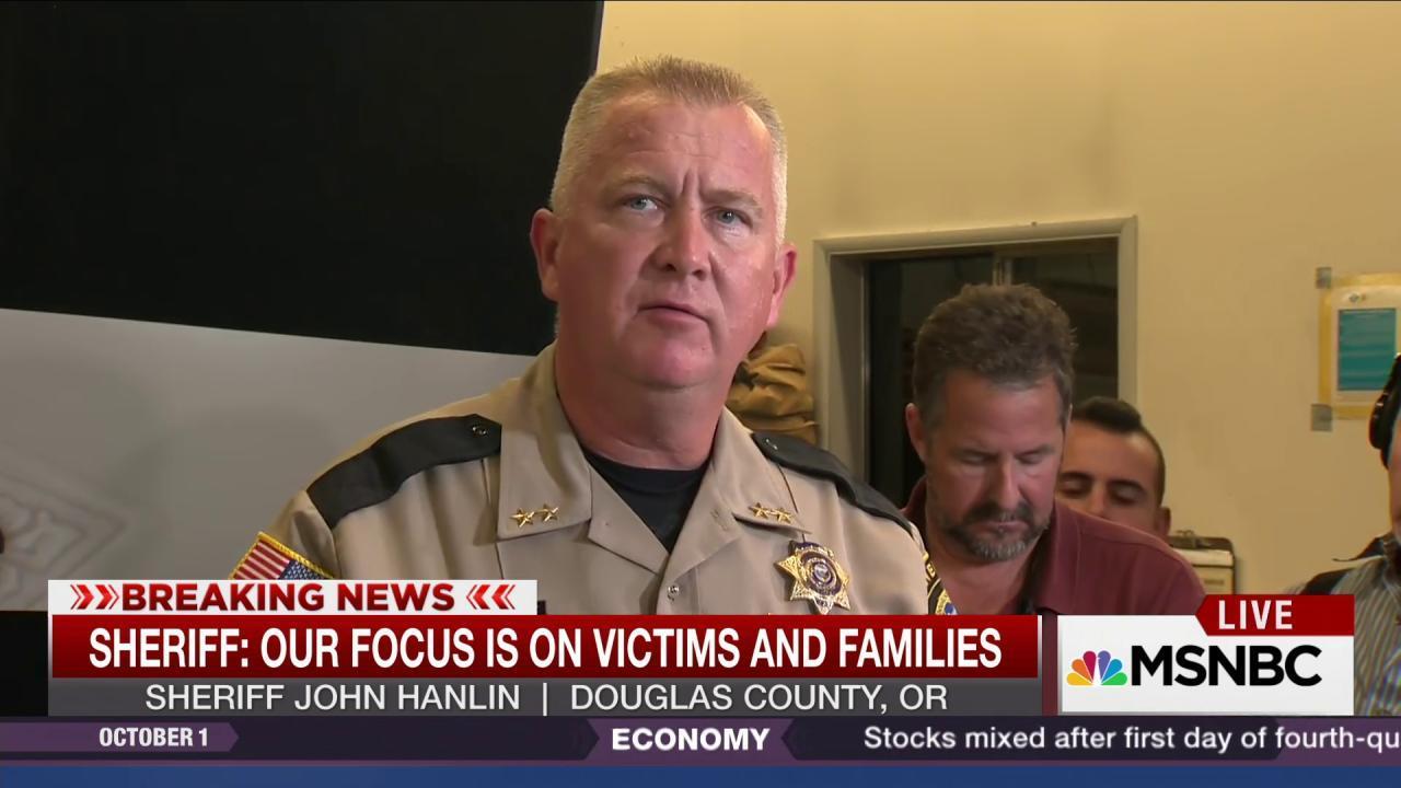 Sheriff refuses to say name of Oregon shooter