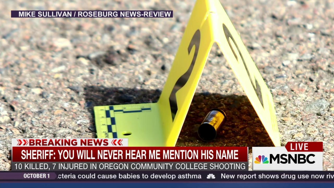 What we know about the Oregon gunman