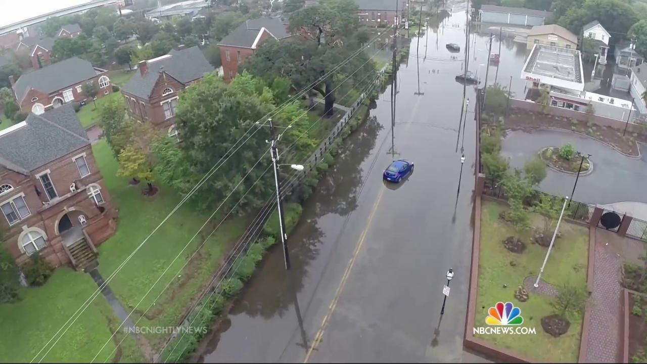 Torrential Rain Slams Parts of East Coast with Historic