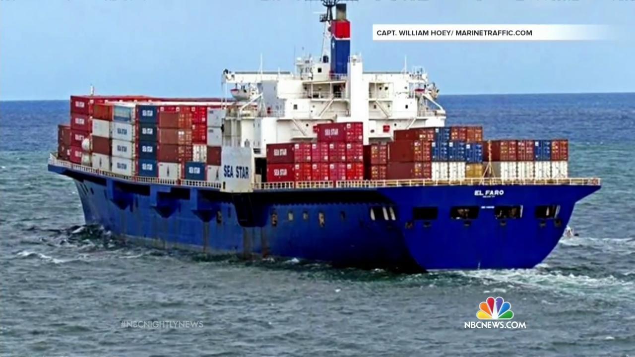 Coast Guard El Faro Cargo Ship Likely Sank During Hurricane Joaquin