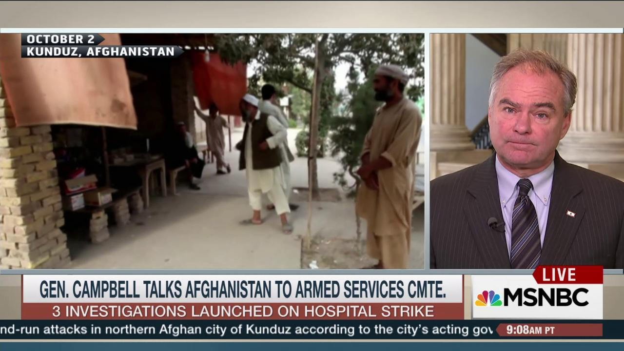 Question surround airstrike at Afghan...