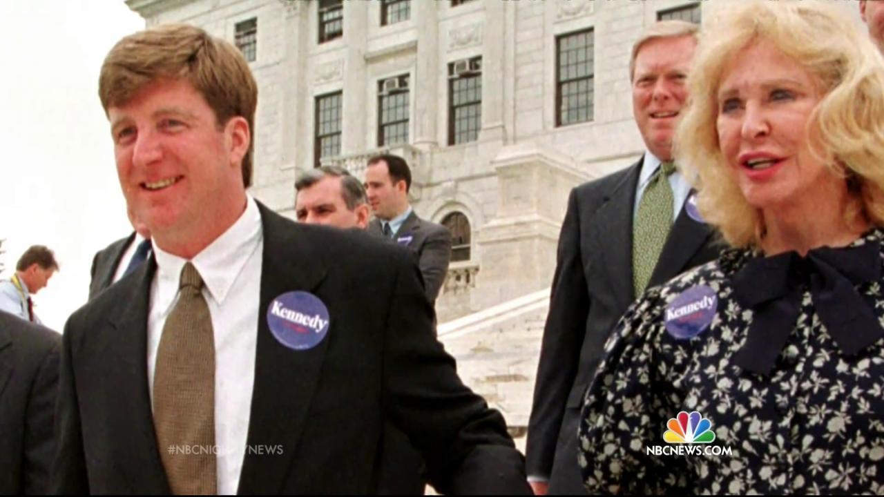 Patrick Kennedy Reveals Family Struggles in Effort to Raise Awareness