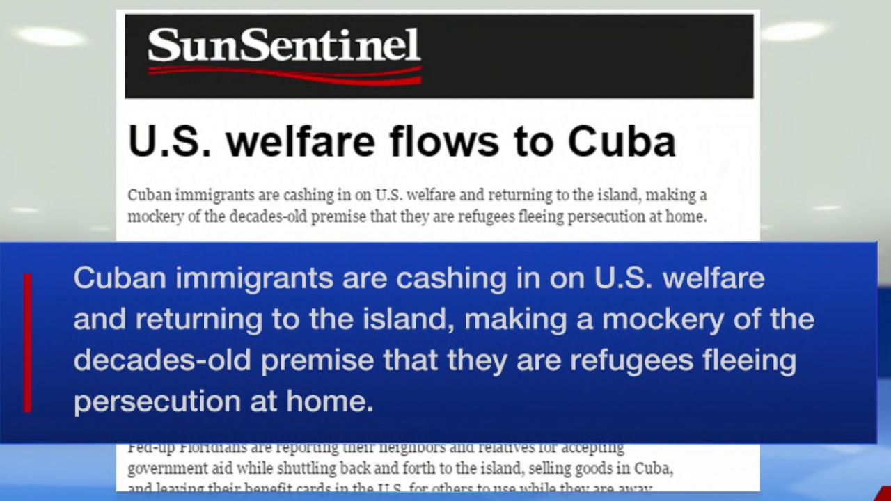 Cubans take advantage of U.S. welfare