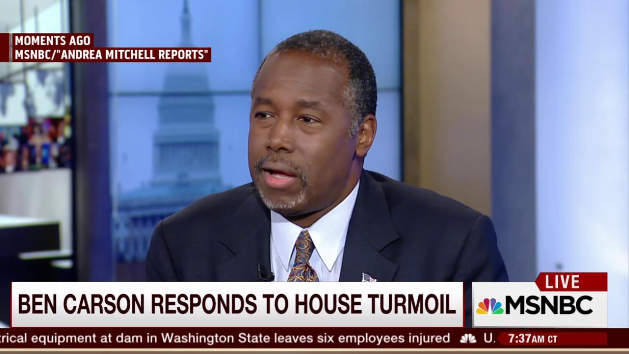 Carson: House GOP can survive and thrive